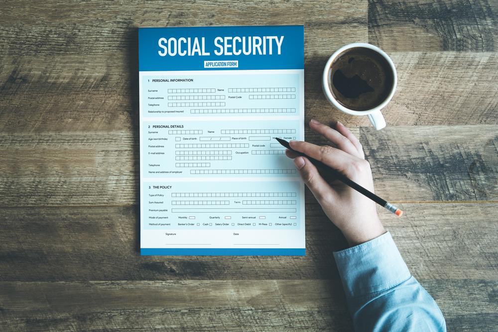 How is the social security disability income amount determined